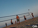 Beach Volleyball am Strand von Morro Jable